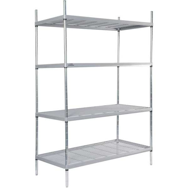 Craven 4tier Nylon Coated Wire Shelving - 1175x390x1700mm (Direct)-0