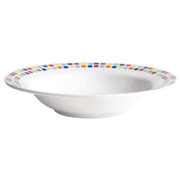 Carlisle Spanish Tile Pasta Bowl - 195mm (Box 48)-0