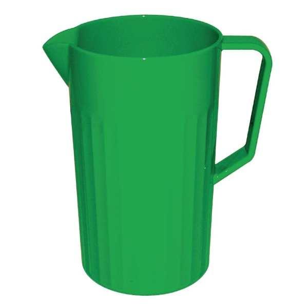 Kristallon Polycarbonate Jug Green - 1.4Ltr (Box 1)-0