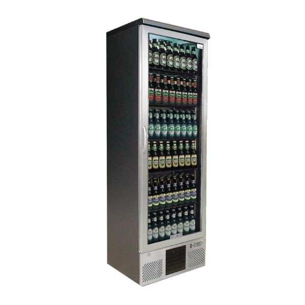 Gamko Upright Bottle Cooler Single Hinged Door St/St Front - 300Ltr (Direct)-0