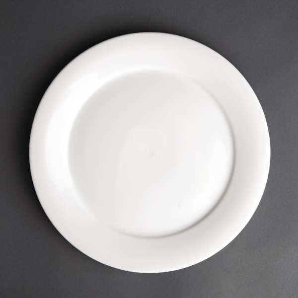 Art de Cuisine Menu Mid Rim Plate - 22.8cm (Box 6)-0