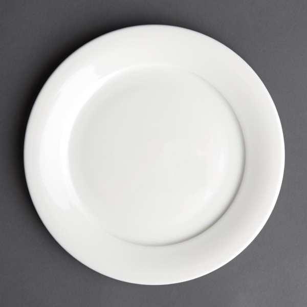 Art de Cuisine Menu Mid Rim Plate - 203mm (Box 6)-0