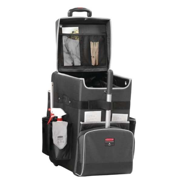 Rubbermaid Quick Cart Black Large