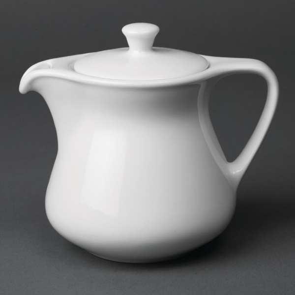Royal Porcelain Classic Teapot White - 300ml 10.5oz (Box 12)-0