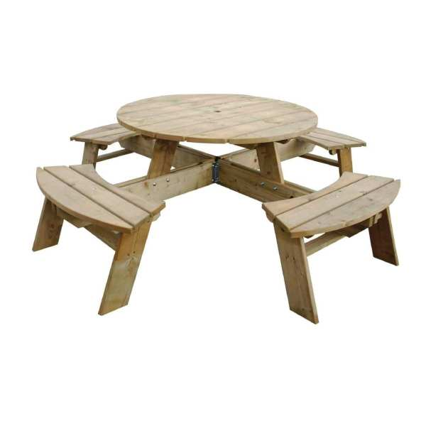 Round Picnic Table (Direct)-0