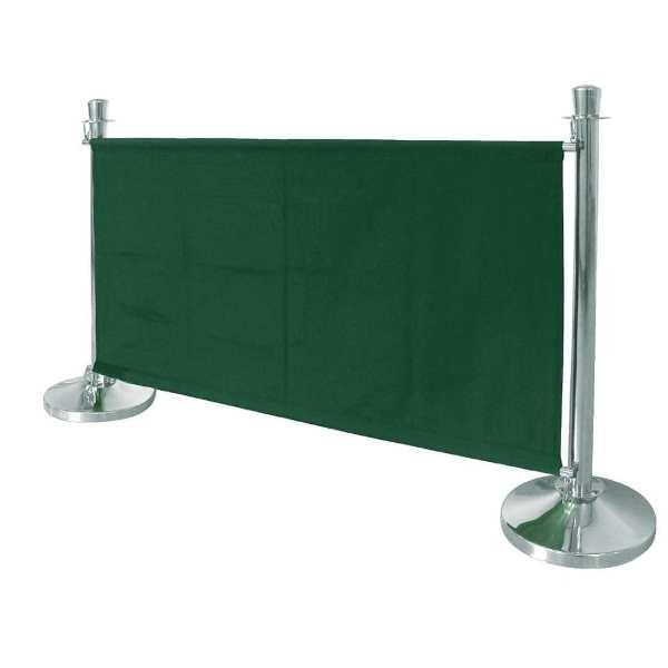 Bolero Green Banner with St/St Fixings-0