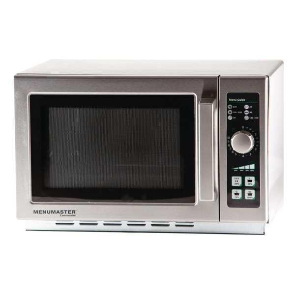 Menumaster Large Cavity Medium Duty Microwave Manual Dial 1100watt (Direct)-0
