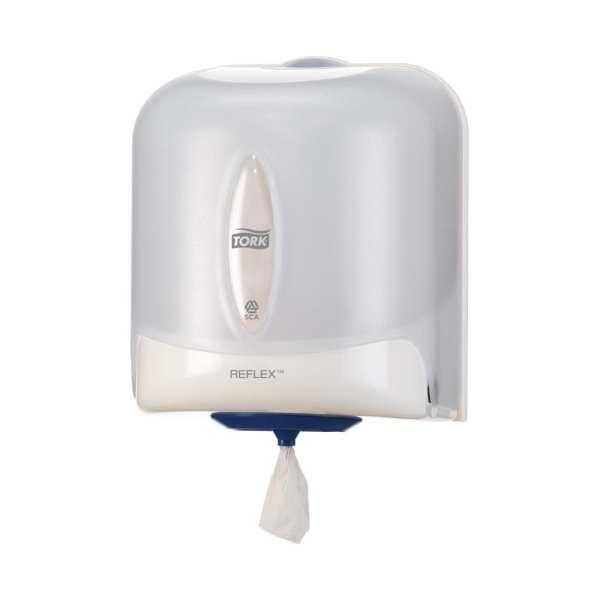 Tork Reflex Wipe Dispenser White