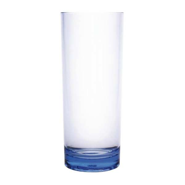 Kristallon Polycarbonate Hiball Tumbler - 360ml 12.75oz Blue (Box 6)-0