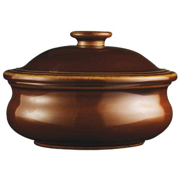 "Churchill Rustics Simmer Stew Pot & Lid - 15oz 14cm 5 7/8"" (Box 6) (Direct)-0"