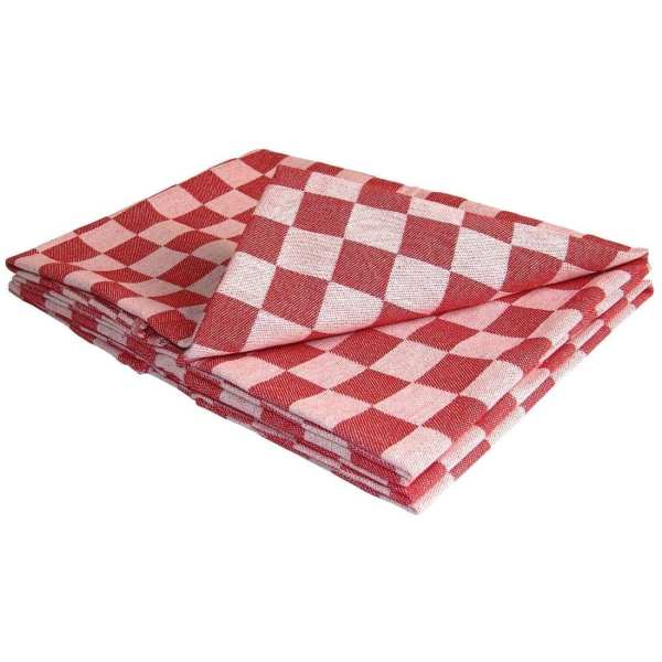 Chef Tea Towel Red-0