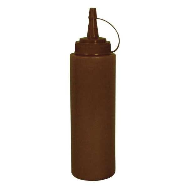 Vogue Squeeze Bottle Brown - 8oz-0