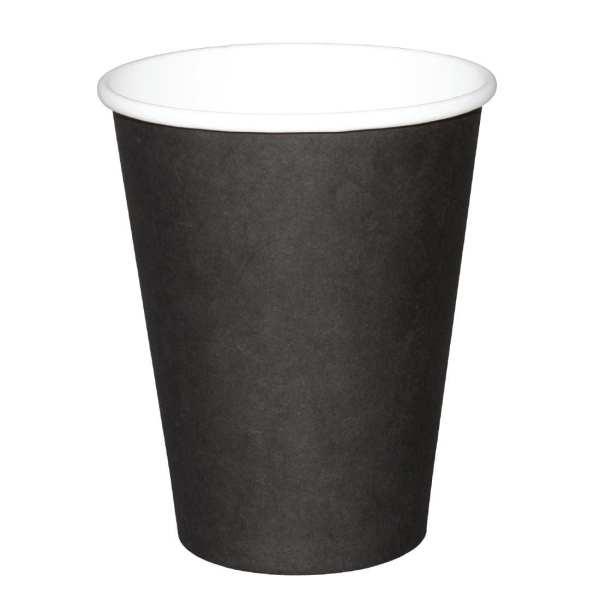 Fiesta Hot Cups Single Wall Black - 228ml (8oz) (Box 1000)-0