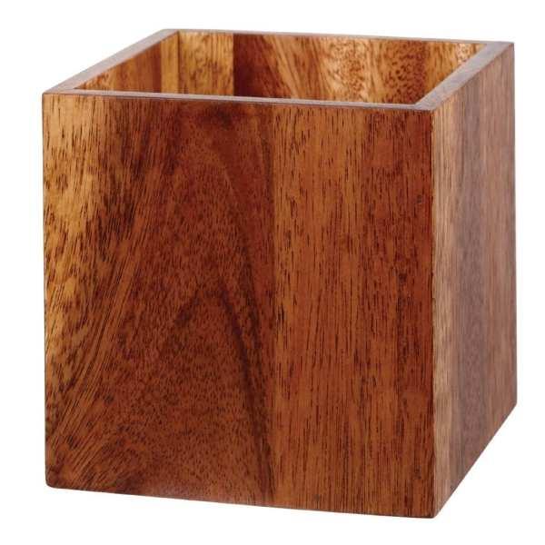 Alchemy Buffet Deli Style Wooden Cube - 150x150x150mm (Box 4)-0