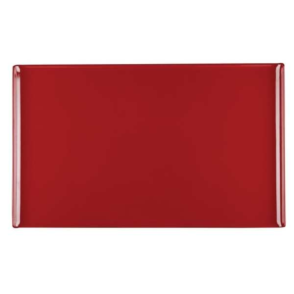 Alchemy Buffet Red Melamine Rectangular Tray - 530x325mm (Box 2) (Direct)-0
