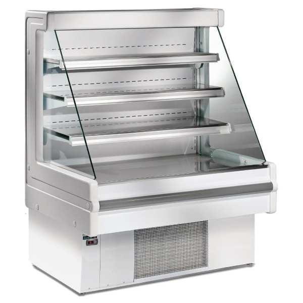 Zoin Mandy 1000(w)mm 3 Shelf Low-Profile Multideck Display Chiller (Silver)-0