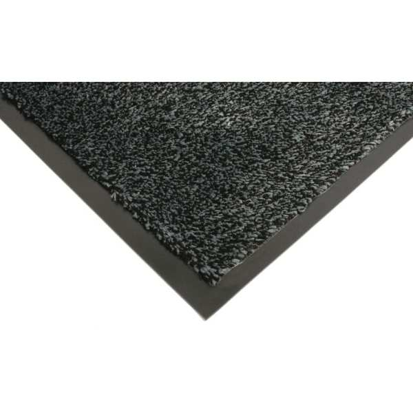 Coba Microfibre Doormat Black - 0.9x1.5m (Direct)-0