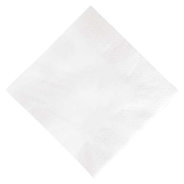 Duni Lunch Napkin - 33x33cm 3ply White (Pack 1000)-0
