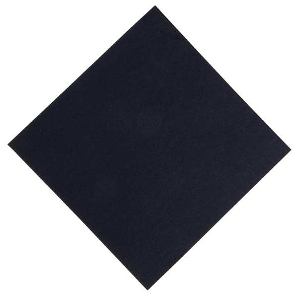 Duni Dunisoft Napkin - 40x40cm Black (Pack 720)-0