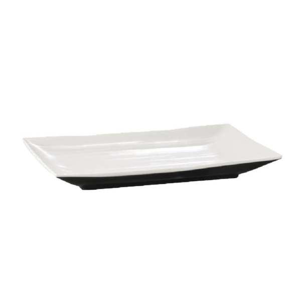 APS Dual Tone Platter Rectangular - 345x215x30mm (B2B)-0