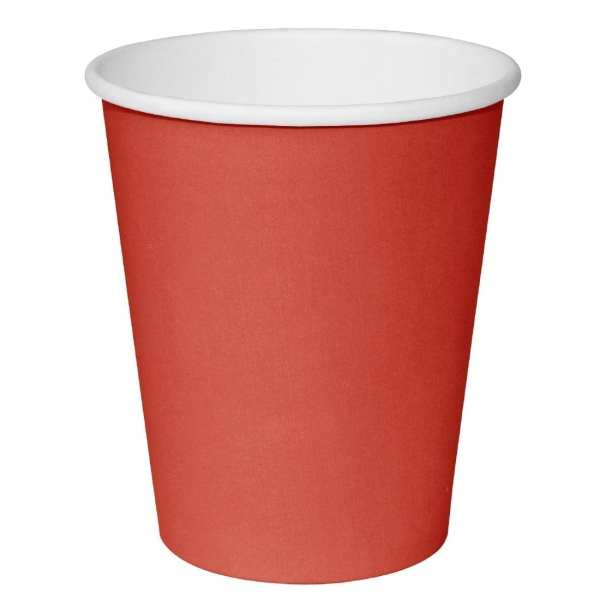 Fiesta Hot Cups Single Wall Red - 341ml (12oz) (Box 1000)-0