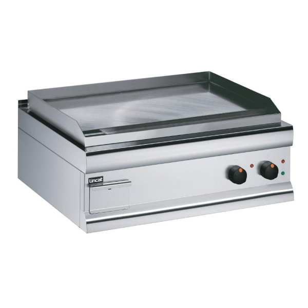 Lincat Electric Griddle Steel Plated - 415Hx750Wx600D 6kW GS7 (Direct)-0