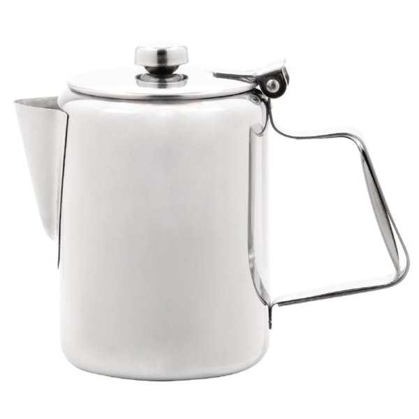 Olympia Concorde Coffee Pot St/St Mirror Finish - 450ml 16oz-0