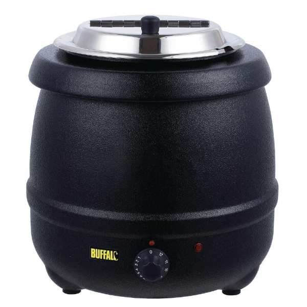 Buffalo Black Soup Kettle - 10Ltr-0
