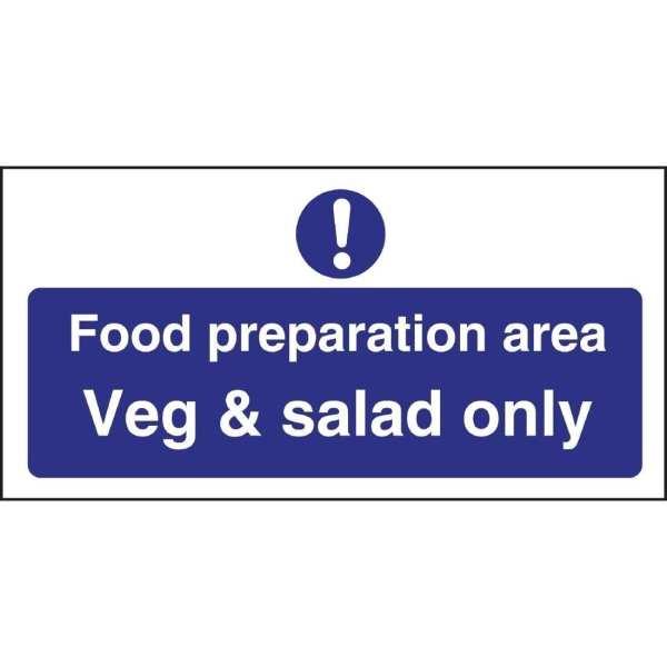 Salad Sign (Self-Adhesive)-0