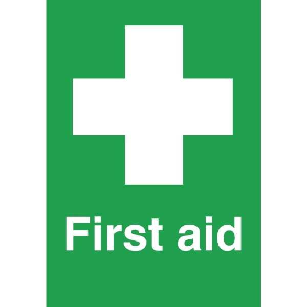 First Aid Symbol - Single - 150x100mm (Self-Adhesive)-0