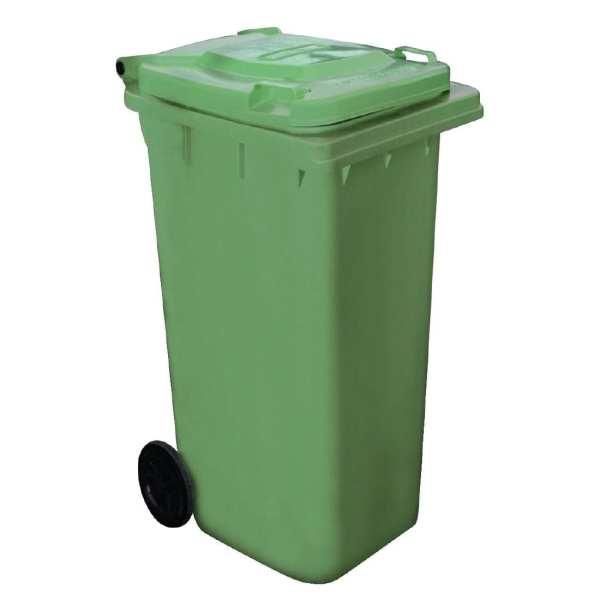 Wheelie Bin Green - 120Ltr (Direct)-0