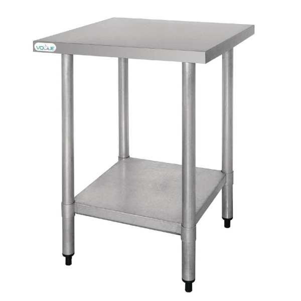 Vogue St/St Table - 600x600mm-0