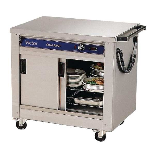 Mobile Count Jr Hotcupboard for 2 Gastronorm (Direct)-0