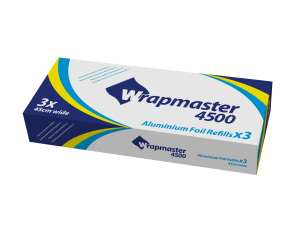 Wrapmaster Caterfoil 450mm x 90m - Box of 3