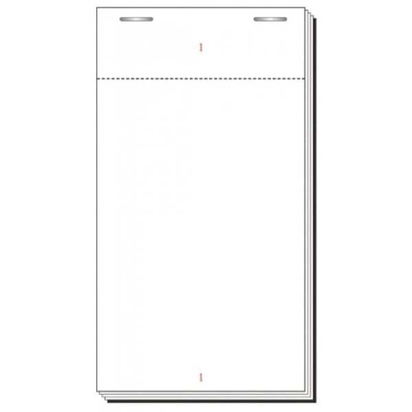 Waiter Order Pad - 100 page Restaurant Check Pad 63 x 127mm - Single page 20pk-0