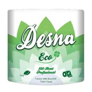 Toilet rolls 320 Sheet - 2ply White - 36 Pack Desna Eco