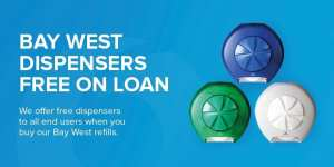 bay west north shore dispenser systems