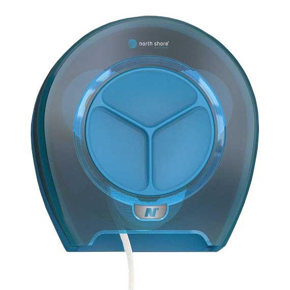 North shore Orbit 4 Roll Toilet Roll Dispenser blue
