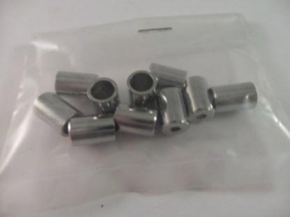 Brake Casing Ferrules, oversize M8 ODM6 ID Per10