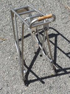 Loose Screws Beast of a Stainless Steel Rear Rack