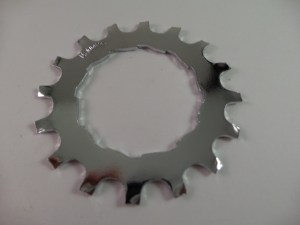 16T Uniglide Freewheel Cog fits 600EX 6sp & Dura Ace 67sp, chrome