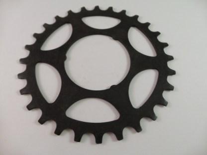 28T Shimano Uniglide Cog Large Spline fits Shimano Freewheels in large spline positions