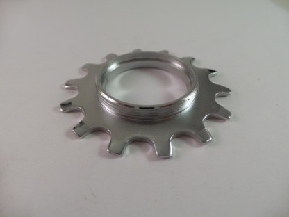 14T Uniglide Freewheel Cog Threaded, Chrome fits Dura Ace 7 speed