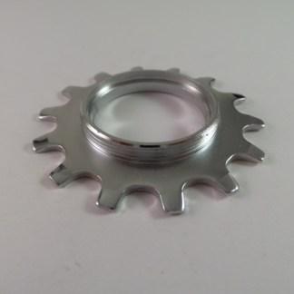 14T Uniglide Freewheel Cog Threaded, Chrome fits Dura Ace 7 speed