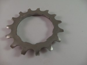 15T Uniglide Freewheel Cog with spacer fits Dura Ace 7 speed