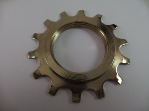 Cassette 14T Uniglide Cog Dura Ace EX Gold Colored thread-on