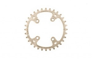 Carbon Ti Full Titanium 36t x 76mm BCD Wide/Narrow Chainring
