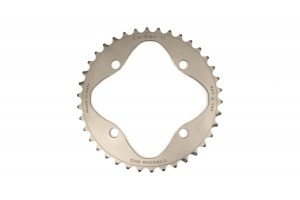 Carbon Ti Full Titanium 38T x 104mm BCD Chainring
