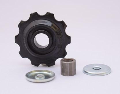 Huret Rear Derailleur Flat Jockey Pulley Wheel with inner busing