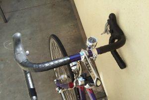 Chesini Grand Tour Custom Italian Touring Bicycle, Campy 11 speed, Generator Hub